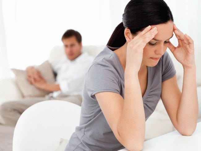 Как переживают развод женщины
