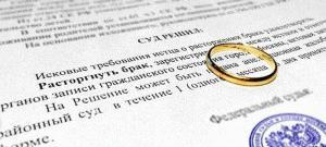 Развод без детей и имущества