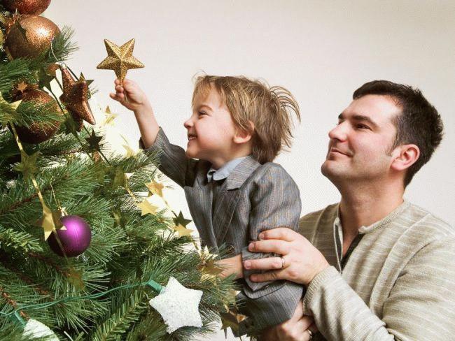 Отец может жить с ребенком до