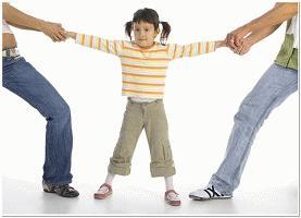 Как не травмировать детей при разводе