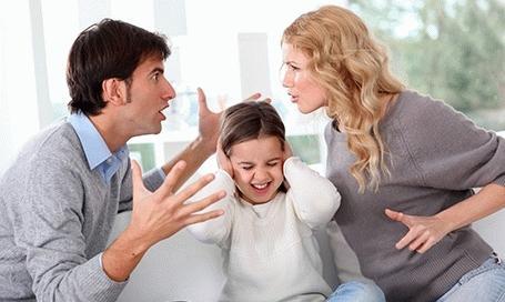 дети и раздел
