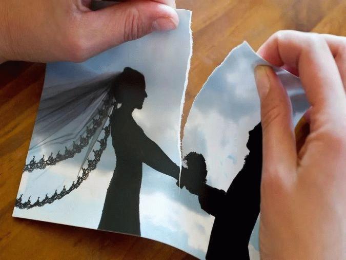 В ЗАГС получают свидетельство о разводе