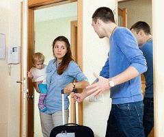 Выселить жену из квартиры